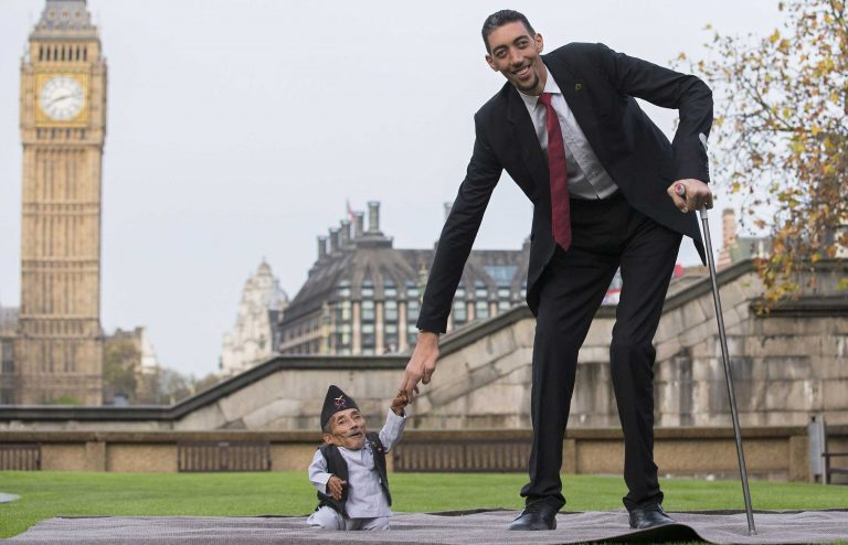 The Tallest Men in the World