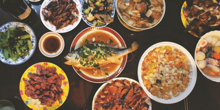 Enjoy Chinese food during all sorts of celebrations