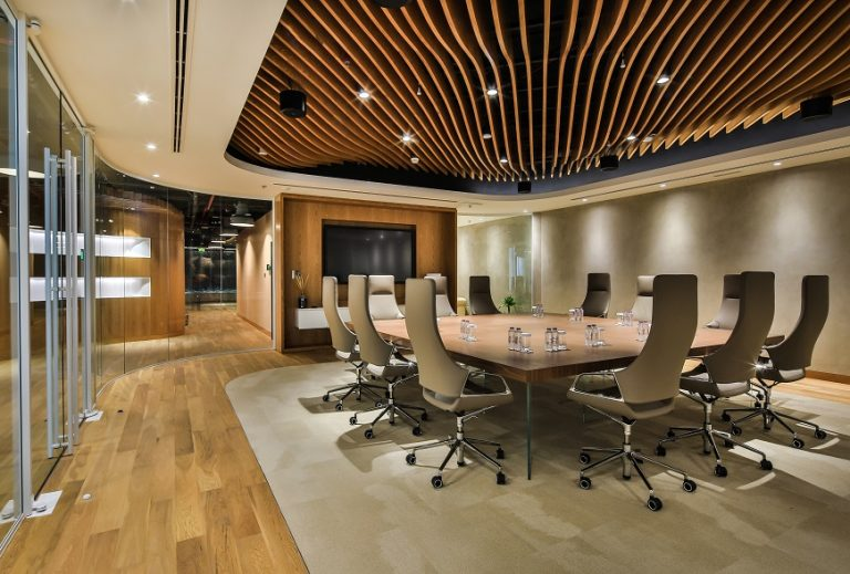 What are interior fit outs?